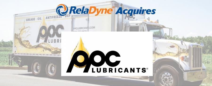 RelaDyne收购宾夕法尼亚州的润滑油分销商PPC Lubricants公司