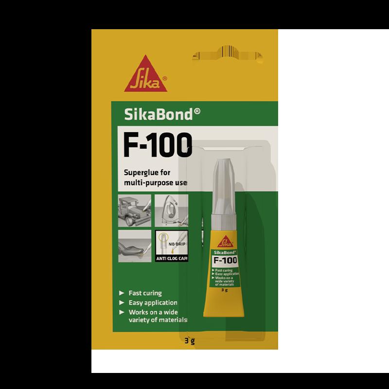 瑞士西卡SikaBond-® F100 多用途强力胶,速凝,中等粘度,多功能强力胶
