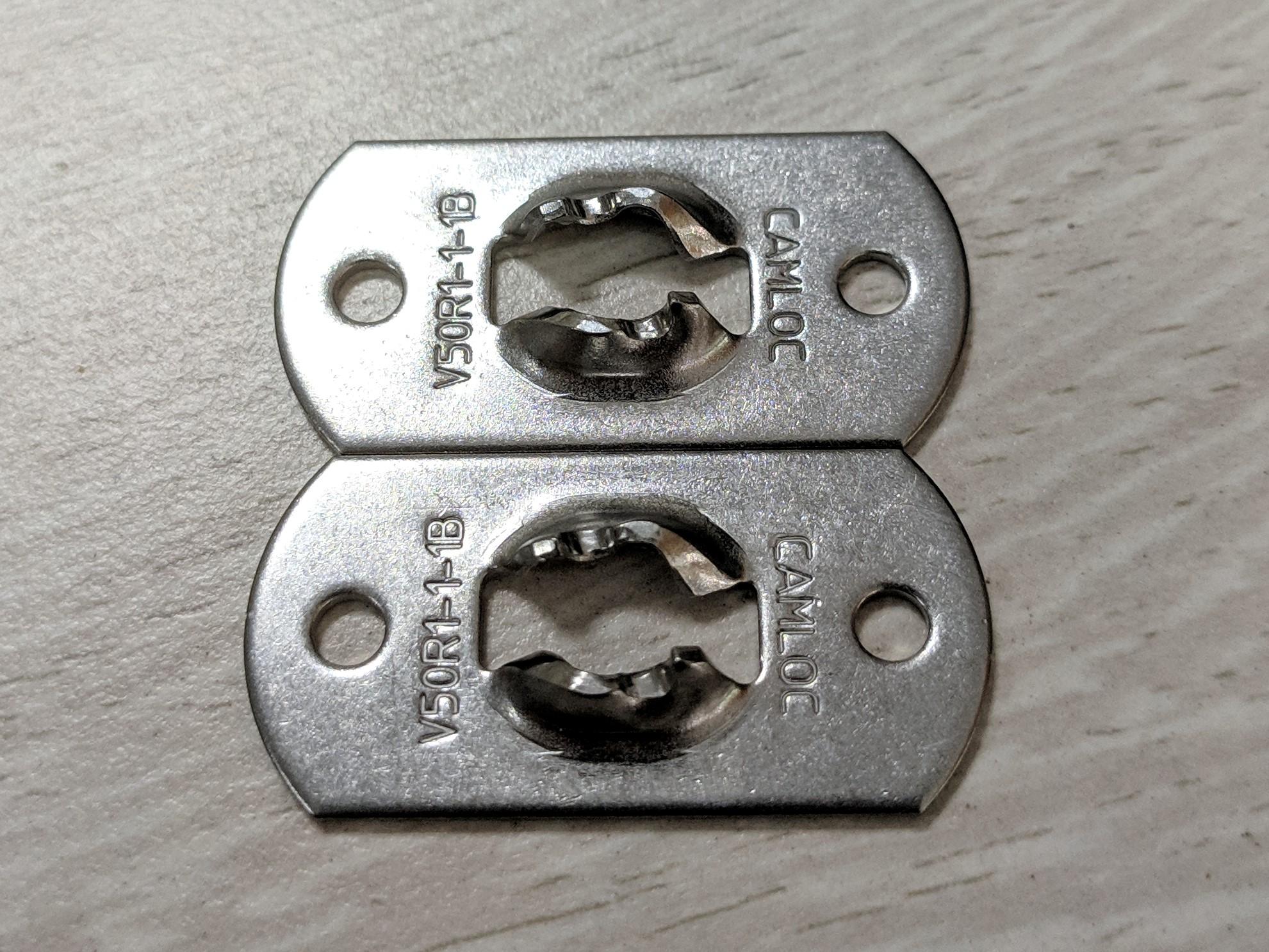 Camloc发动机舱盖锁定销,Camloc面板紧固件 V50R1-1-1BP 四分之一转/直角旋转锁销面板/固定片