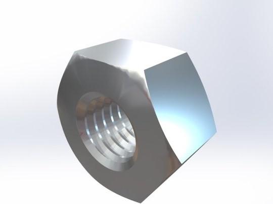 不锈钢 重系列六角螺母UNI 5587 不锈钢304/316可选