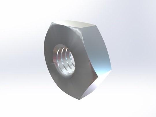 304不锈钢 小六角螺母ASME B18.2.2