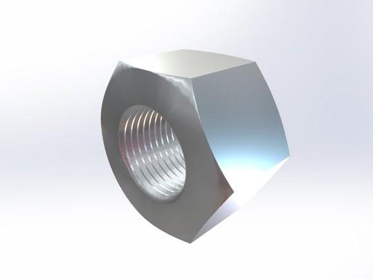 303/316不锈钢 大六角螺母ASME B18.2.2