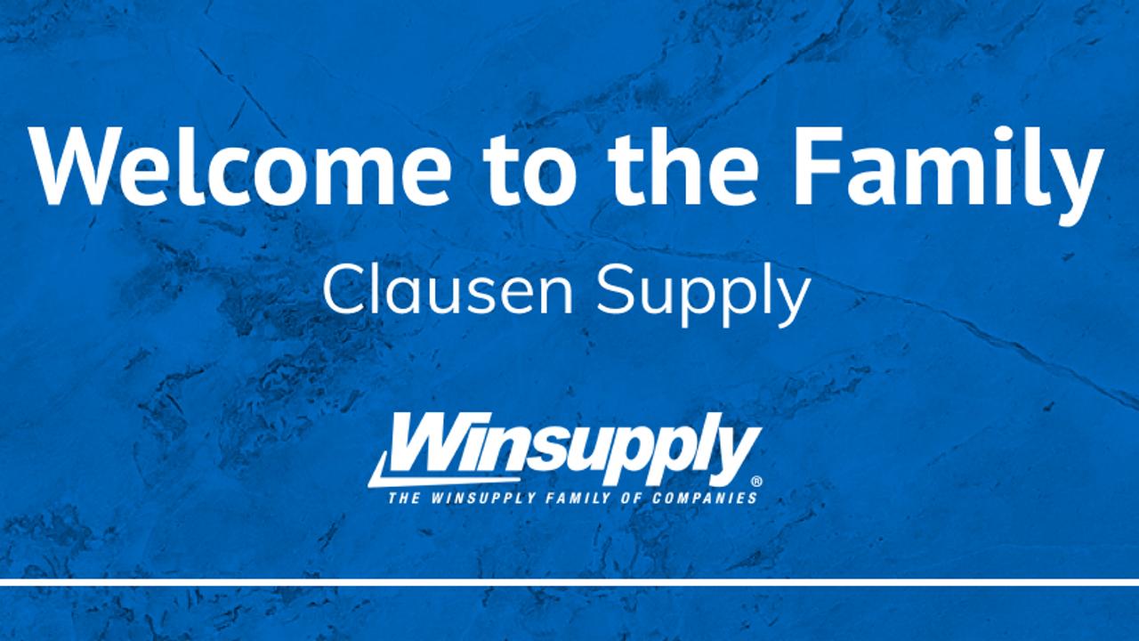 Winsupply收购爱荷华州的暖通空调分销商Clausen Supply