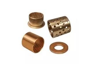 青铜衬套,圆柱衬套,自润滑干轴承,无油轴承,无油衬套,滑动衬套