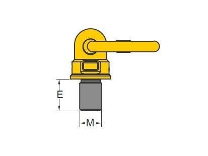 YOKE代理商,安全万向旋转吊环螺栓 8-271/YOKE,YOKE吊环代理商,YOKE吊环中国