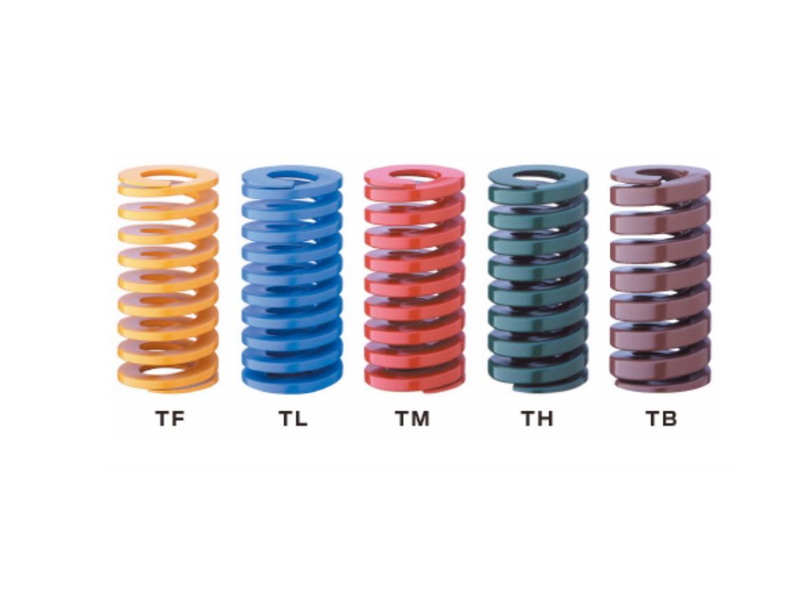 TOKYO,东京发条弹簧,矩形螺旋弹簧,TF8模具弹簧,SWOSC-T弹簧钢,TOHATSU弹簧