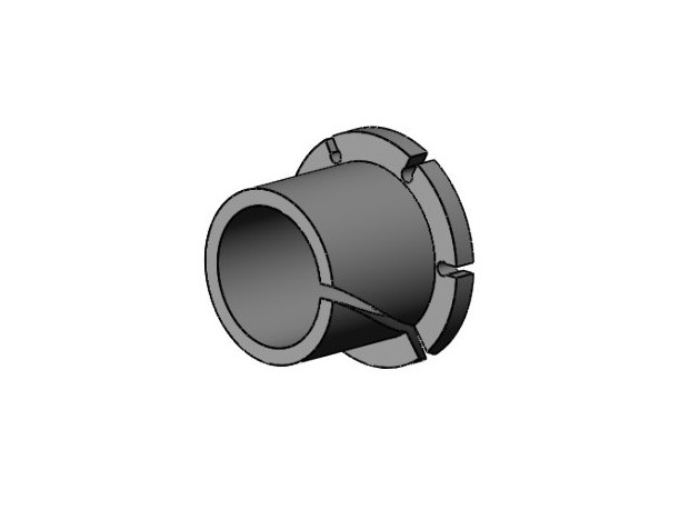 Nylon Plastic Bearings,轴承衬套,易于安装的干式运转法兰套筒轴承,英制滑动轴承