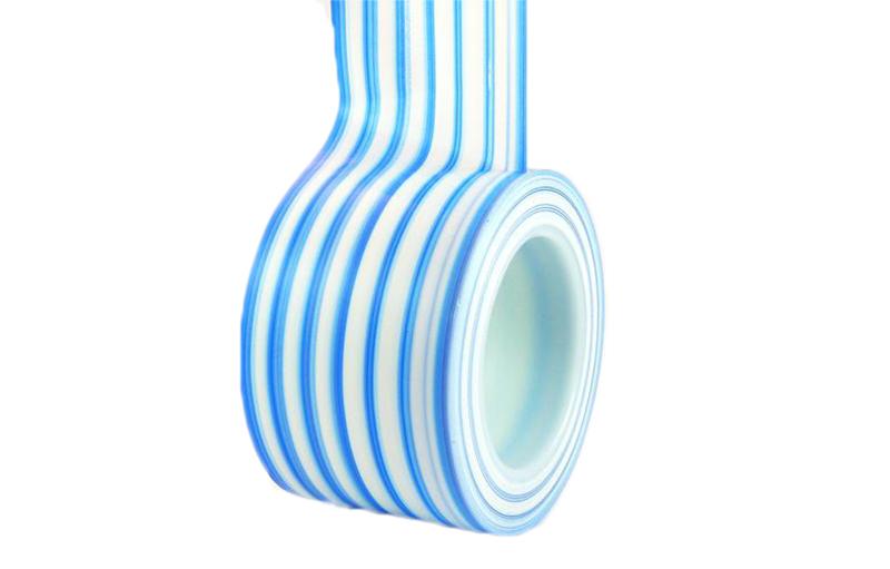Ultratape 1153 Blue And White Stripe Protocol Tape